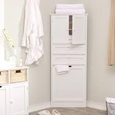 Bathroom Floor Cabinet Home Designs Bathroom Floor Cabinet Simple White Vanity And