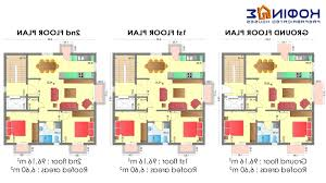 home design 2 story house plans 3d arts with regard to 93