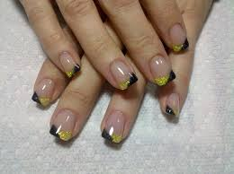 day 106 two tone simple french nails nails magazine
