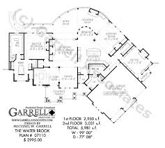 entertaining house plans water brook house plan craftsman house plans