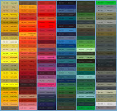 ral paint colour chart for polyester powder coating m u0026m access ltd