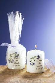 wedding candle favors personalized wedding candle favors personalised yankee candle