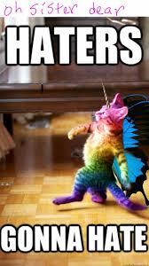 Unicorn Rainbow Meme - rainbow butterfly unicorn cat by krxterme on deviantart