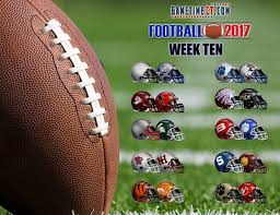 football the week 10 live update broadcast links