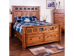 Low Profile King Bed Sunny Designs Sedona King Bed W Storage In Footboard Becker
