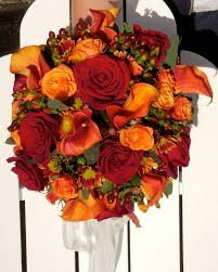 wedding flowers fall picture of stunning fall wedding bouquets