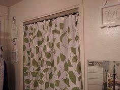 Replace Sliding Closet Doors With Curtains Nursery Projects Crib Skirt And Closet Curtain Closet Door