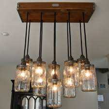 light unique rustic fixtures surprising lovely diy chandelier