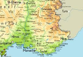 Map France by Gr56 Tour De L U0027ubaye