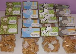 party favors for baby shower jungle theme jungle bags baby