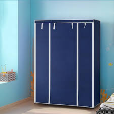 aliexpress com buy ikayaa us uk fr stock wardrobe storage aliexpress com buy ikayaa us uk fr stock wardrobe storage wardrobe clothing hanger bedroom furniture roll up wardrobe cabinet clothes hanger rack from