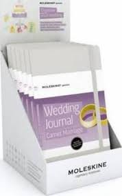 Wedding Journal Moleskine Counter Display For Passion Wedding Journal 9788867321902