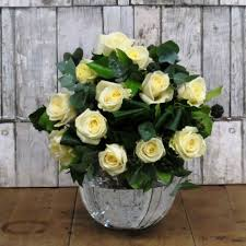 White Rose Bouquet Liverpool Florist The Dutch Flower Shop