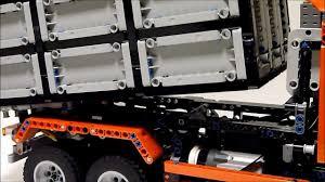 lego technic truck lego technic dump truck youtube
