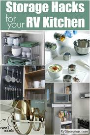 88 best rv kitchens images on pinterest camper storage rv