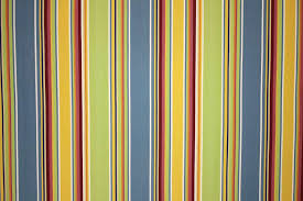 Upholstery Fabric Striped Cricket Yellow Striped Fabric The Stripes Company Uk