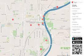 Maps Omaha Omaha Printable Tourist Map Sygic Travel