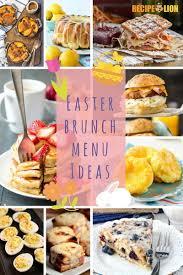 ideas for a brunch 19 easter brunch menu ideas recipelion