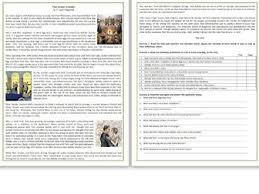 materialism reading comprehension worksheets by mariapht