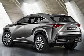 lexus nx hybrid italia lexus lf nx concept a city dwelling suv of the future