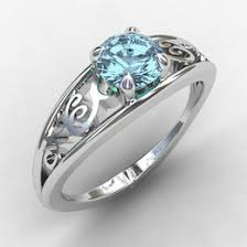 Birthstone Wedding Rings by Filigree Ring Ideas U0026 Collections