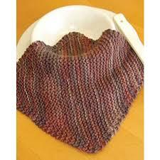 free dishcloth knit pattern