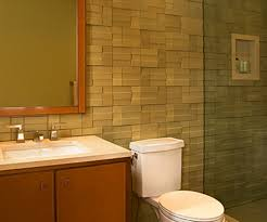 bathroom elegant nemo tile wall with modern toilet and bathroom