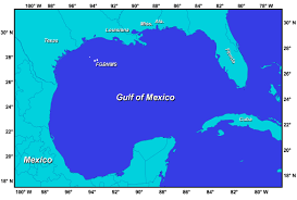 Map Of Western Mexico by Introduction To Flower Garden Banks National Marine Sanctuary