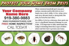 pest post cards