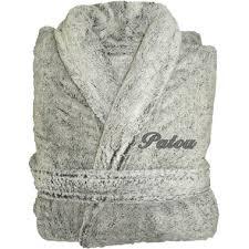 robe de chambre homme personnalisé peignoir polaire à personnaliser