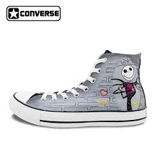 the nightmare before skellington converse all