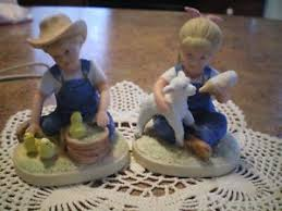 home interior porcelain figurines home interior denim days ebay