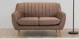 Buy Two Seater Sofa Buy Castilla Two Seater Sofa In Chrome Grey Colour By Casacraft