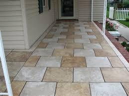 outdoor porch tile ideas home design porcelain patio porches slate