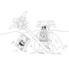 jestro en het monsterboek coloring pages for kids