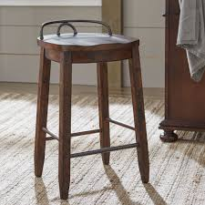 Furniture Bar Stool Chairs Backless by Furniture Backless Counter Stool Lawson Cheap Barstools Height