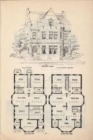 era house plans artistic city houses no 43 herbert chivers free