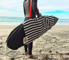case surfboard one of a kind handmade canvas