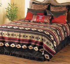 creating unique western home decor ideas using southwest bedding