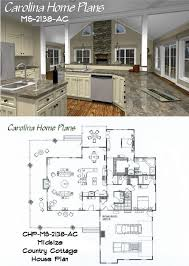 entertaining house plans midsize country cottage house plan with open floor plan layout