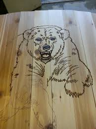 Easy Wood Burning Patterns Free by Wood Burning Bear Wood Working Pinterest Wood Burning