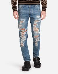 American Flag Jean Shorts Men Men U0027s Denim Jeans Skinny And Regular Dolce U0026gabbana