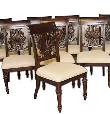 eight tommy bahama dining chairs by lexington furniture ebth
