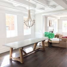 diy concrete dining table inspiring concrete dining table indoor all about on room