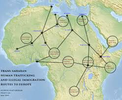 Map Of Benghazi African Illegal Immigration To Europe 2015 Map Policy Blog