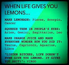 Funny Virgo Memes - tauro hace jugo de naranja y hace que todo el mundo se pregunte