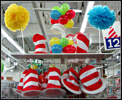 dr seuss party decorations what s in store all things seussical