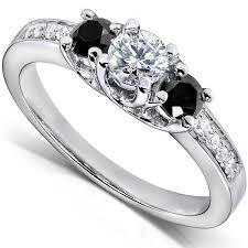 engagement rings with black diamonds black engagement rings lovetoknow