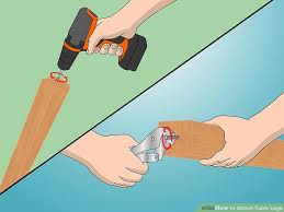 table leg mounting hardware how to attach table legs 12 steps with pictures wikihow
