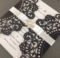 couture laser cut invitation chosen touches wedding stationery